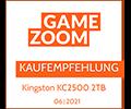 Gamezoom KC2500 Kaufempfehlung Award