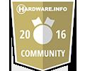 HarwareInfo.nl HyperX fury Memory Award