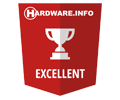 Hardware.Info Excellent Choice Award
