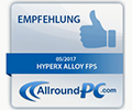 All-roundPC HyperX Alloy FPS Award