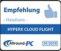 Allround-PC HyperX Cloud Flight  Empfehlung Award