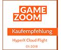 Gamezoom HyperX Cloud Flight Kaufempfehlung Award