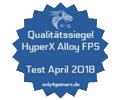 only4gamers HyperX Alloy FPS Qualitätssiegel Award