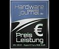 HW Journal Fury DDR4 RGB Preis-Leistung Award