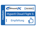 Allround PC Cloud Flight S Empfehlung Award