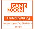Gamezoom Fury DDR4 RGB Kaufempfehlung Award