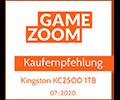 Gamezoom KC2500 Award