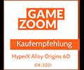 Gamezoom Alloy Origins 60 Kaufempfehlung Award