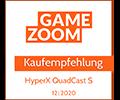 Gamezoom Quadcast S Kaufempfehlung Award