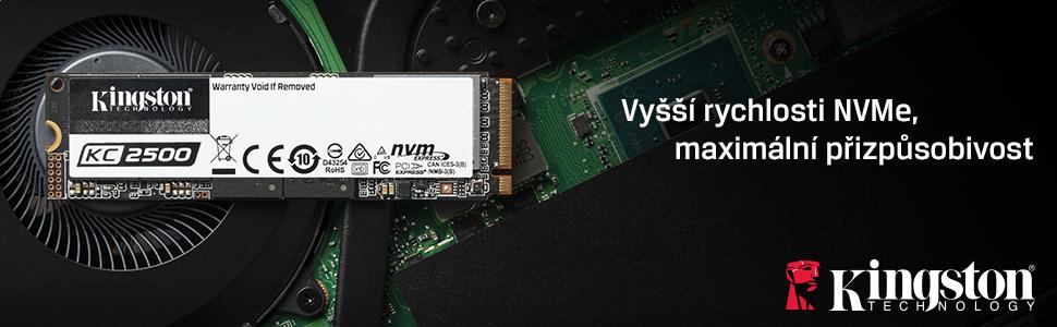 Vyšší rychlosti NVMe, maximální přizpůsobivost