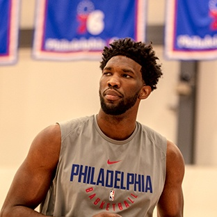 Photo of HyperX Influencer Joel Embiid