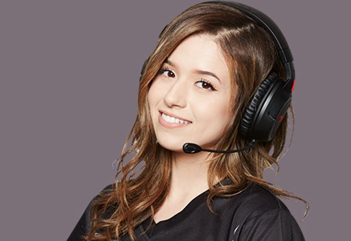 Photo of HyperX Influencer Pokimane wearing HyperX Cloud MIX headset front facing