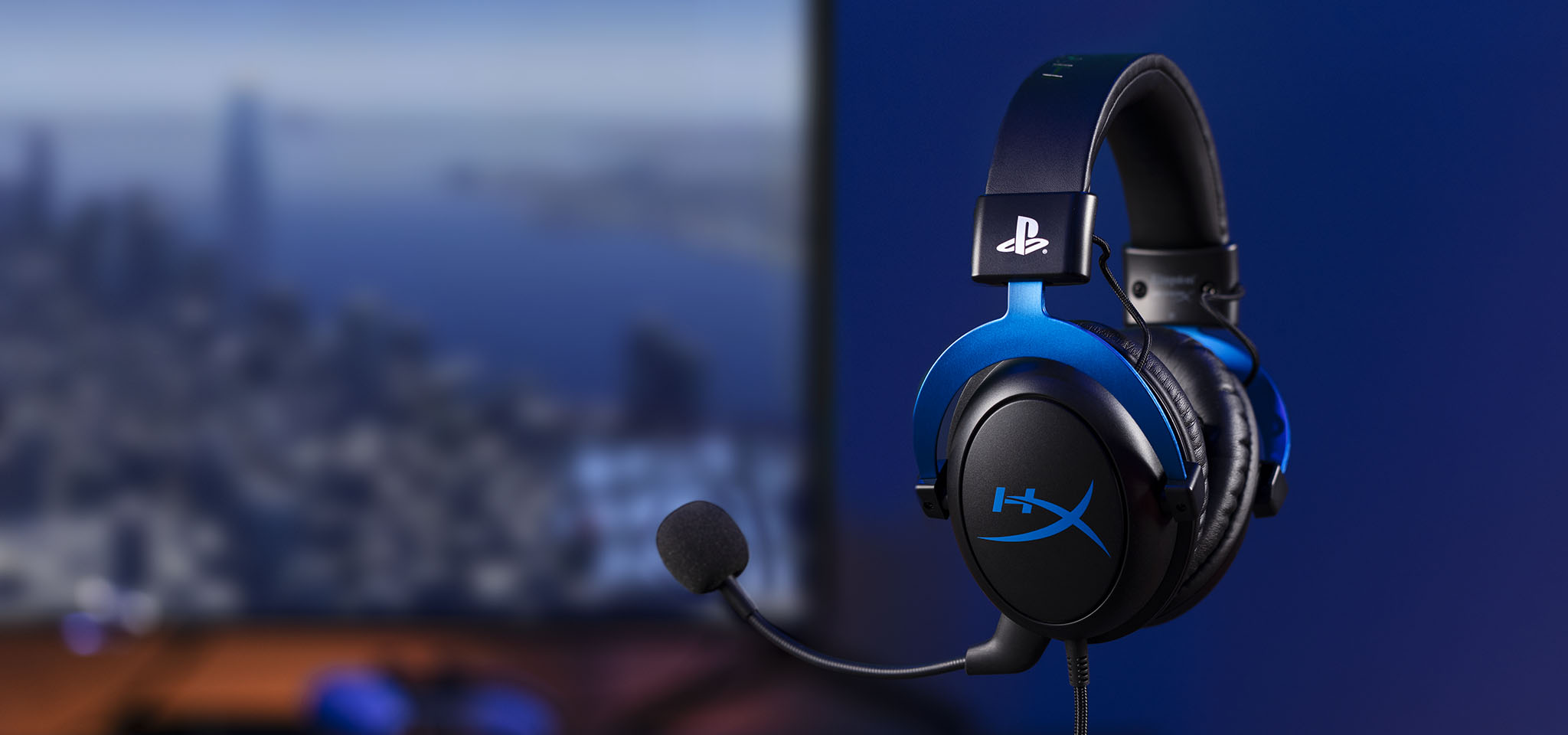 Cloud Gaming Headset for PS4