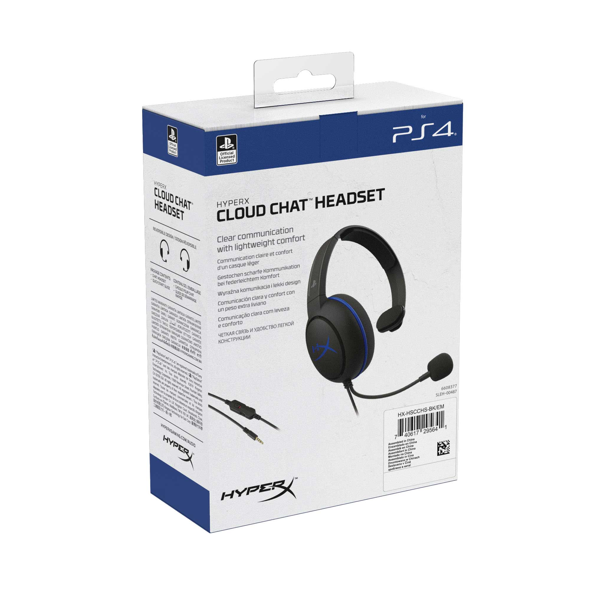 HyperX Cloud Chat Headset – Official