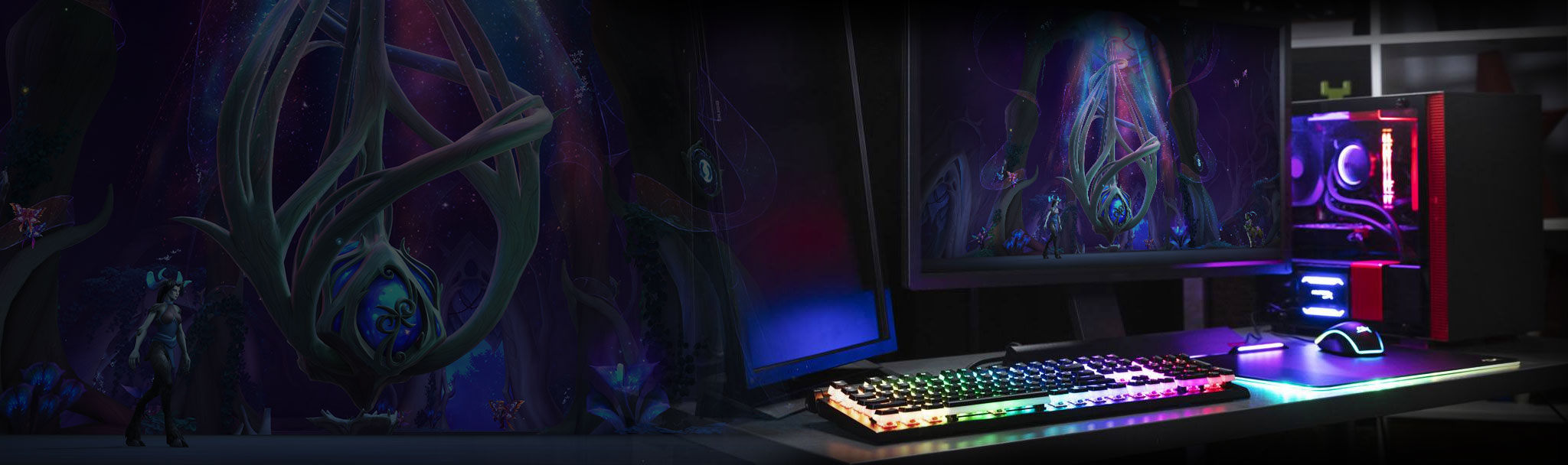 Gaming Keyboards, Mice & Memory for World of Warcraft| HyperX