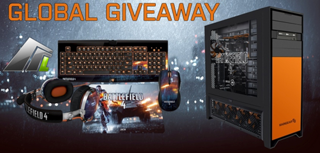 Win A Fully Loaded Gaming PC in Mass Luminosity's Battlefield 4 Global Giveaway
