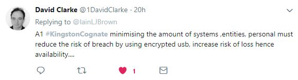 What are the applications for encrypted USBs in a cloud-centric world?