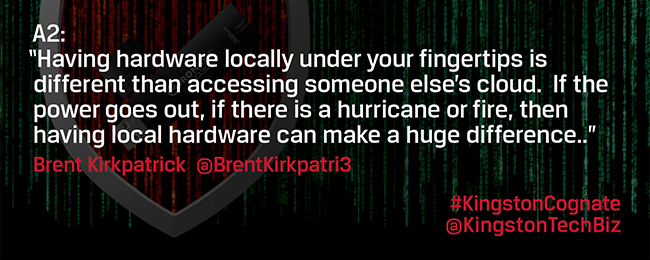 Is hardware more secure than cloud? What are the risks for both?