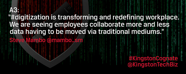 How will USBs/cloud contribute to the future of the digital workplace and flexible employment?