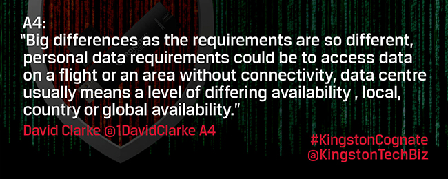 How do the challenges of data security differ between consumer, enterprise and data centre?