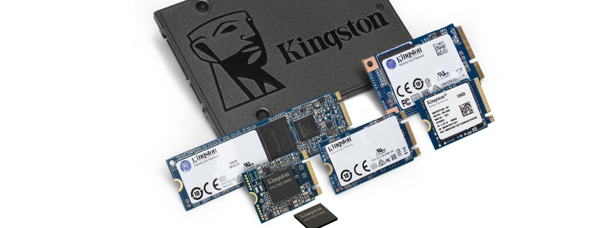 SATA SSD หนึ่งตัว M.2 SSD ขนาด 2230, 2280 และ 2242 หนึ่งตัว mSATA SSD สองตัวและ SSD แพคเกจแบบ BGA หนึ่งชุด