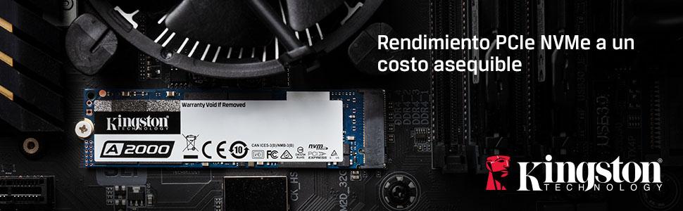 Rendimiento PCIe NVMe a un costo asequible