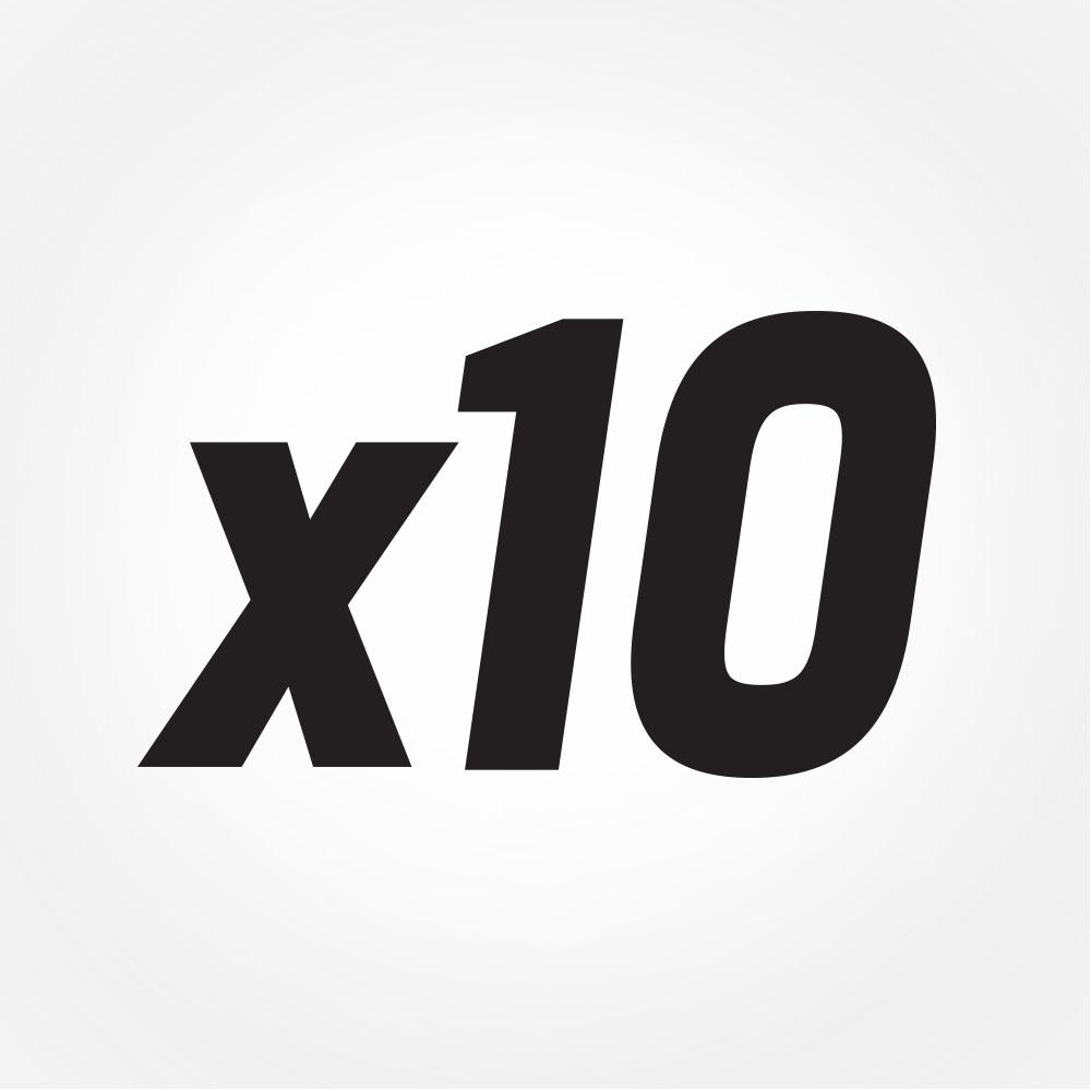 10x faster than a hard drive