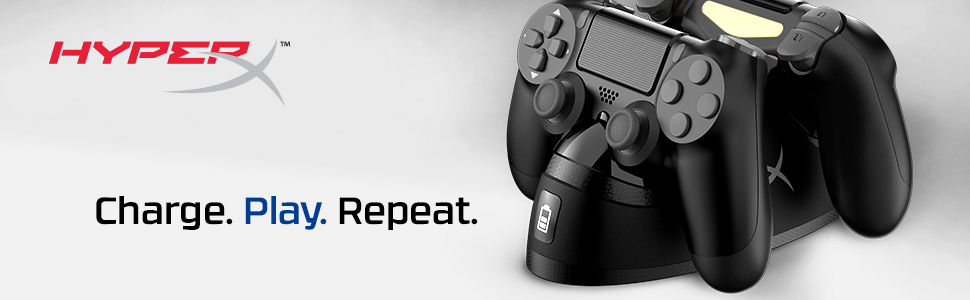 Charge. Play. Repeat.