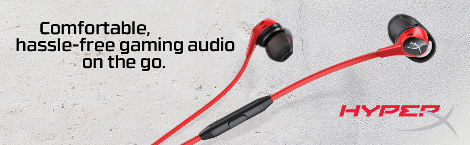 Comfortable, hassle-free gaming audio on the go.