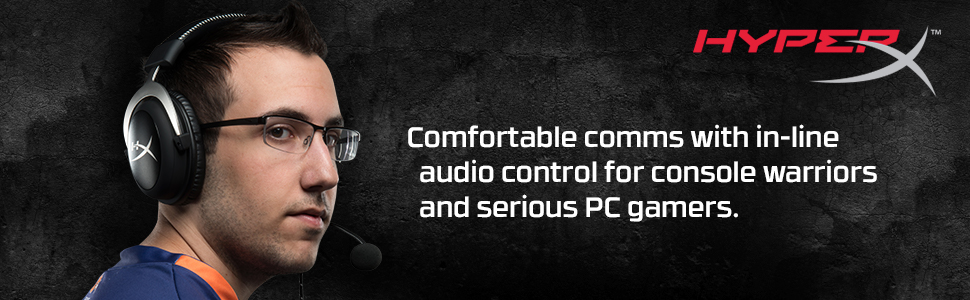 Comfortable comms with in-line audio control for console warriors and serious PC gamers.