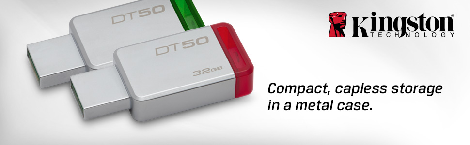 Compact, capless storage in a metal case.