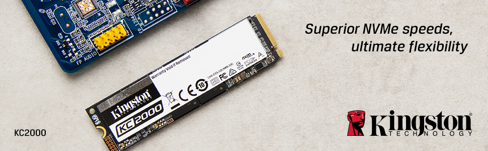 Superior NVMe speeds, ultimate flexibility
