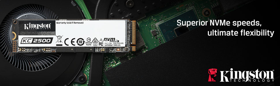 Superior NVMe speeds, ultimate flexibility