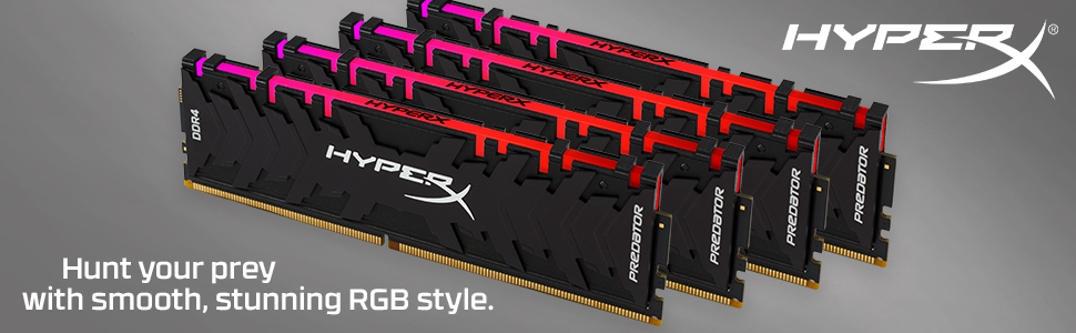 Hunt your prey with smooth, stunning RGB style.