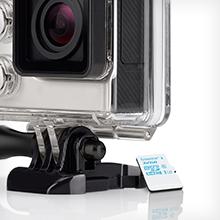Diseñadas para cámaras de acción y drones