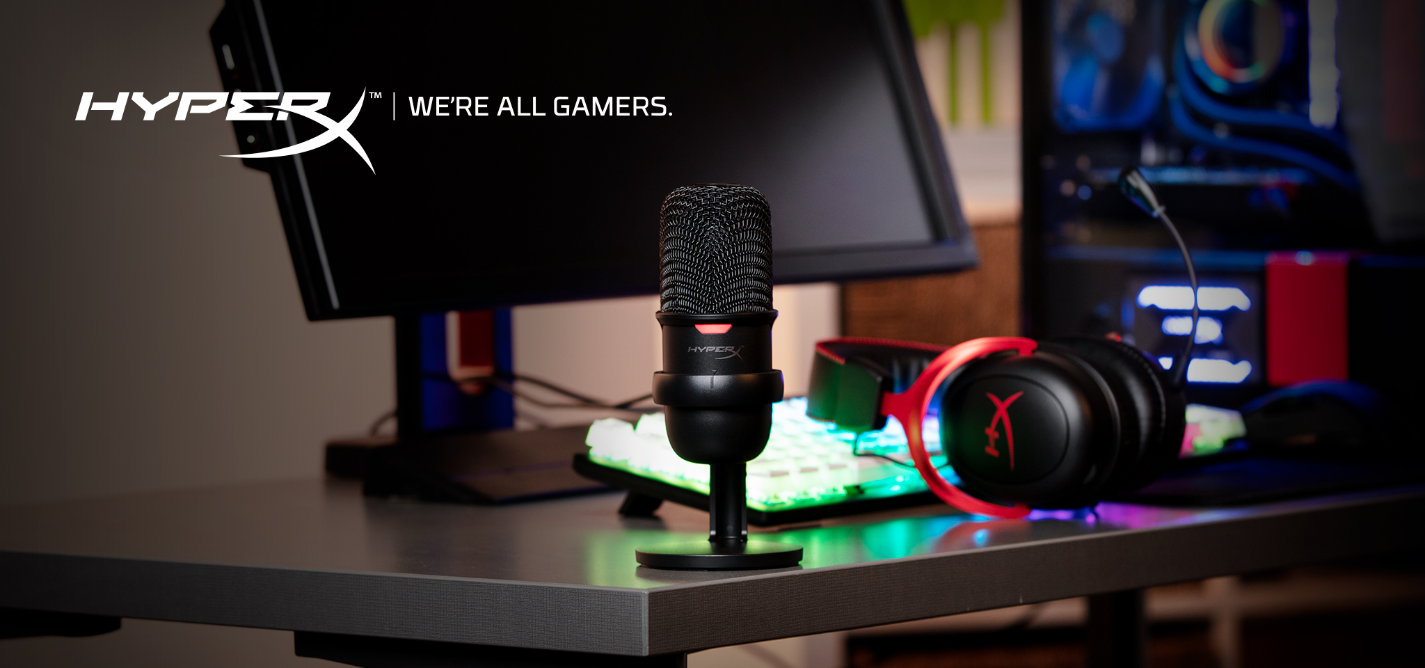 Easy-to-use USB microphone for streamers and content creators.