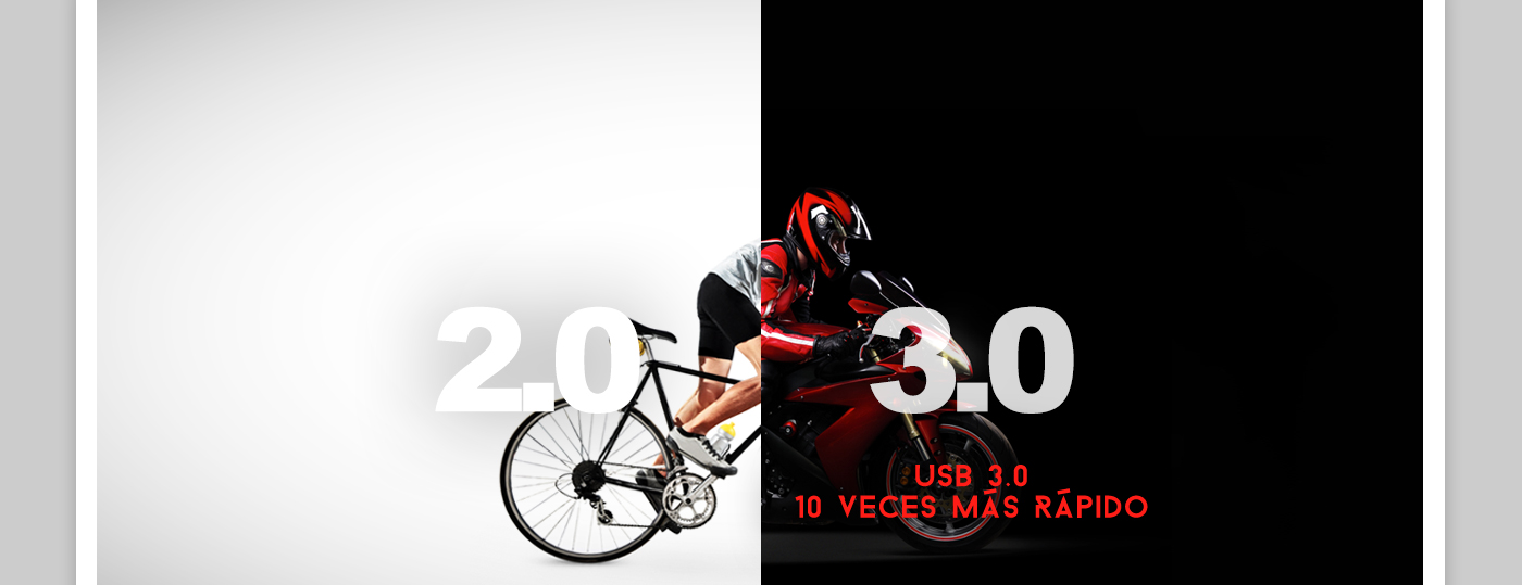USB 3.0 - 10 Veces mas rapido