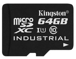 Kingston Releases Industrial Temperature microSD Card