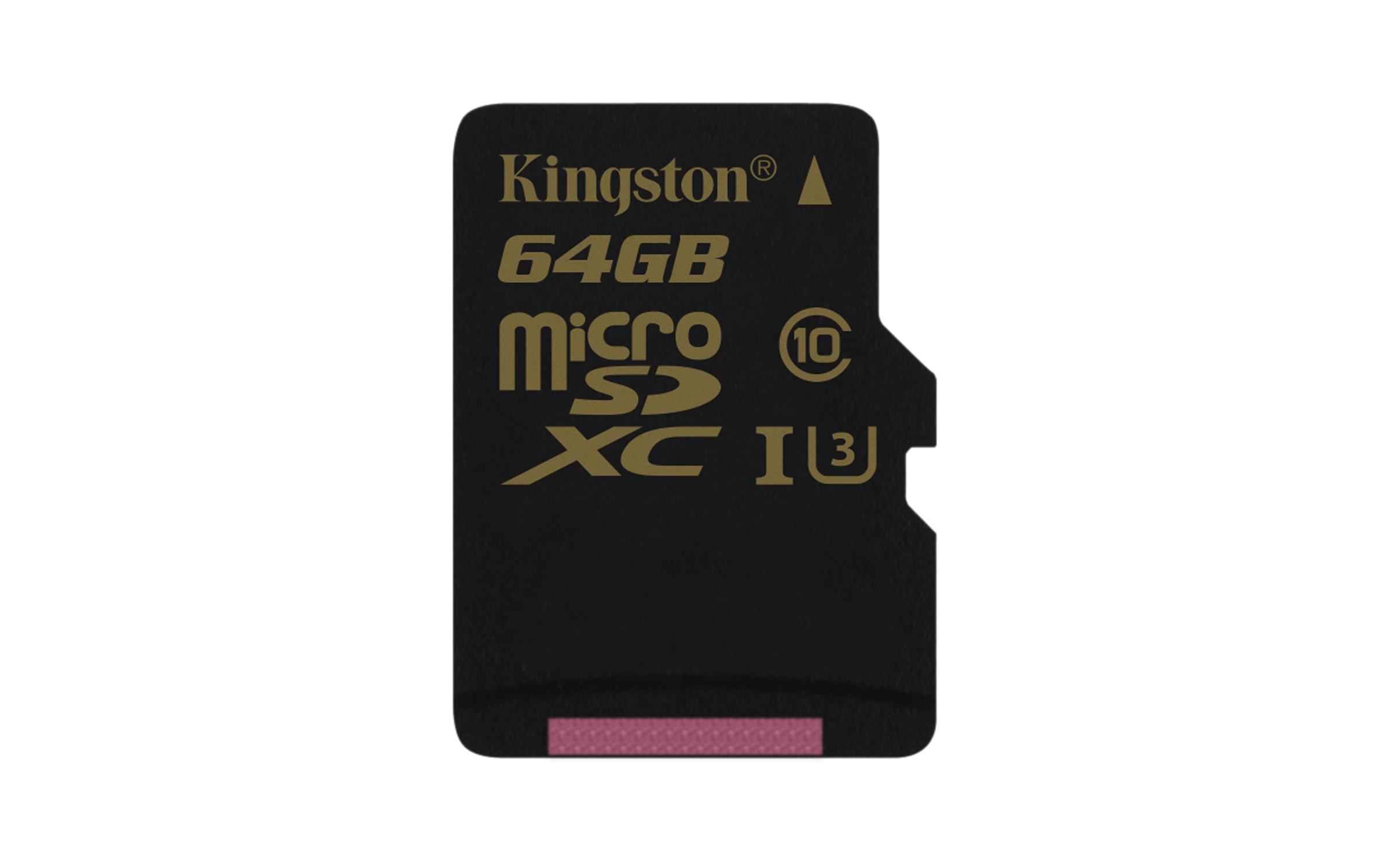 microSD Kingston Gold UHS-I Speed Class 3 (U3) - click for larger image