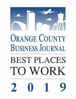 Orange County Business Journal - Best Places to Work 2019