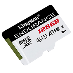 New High Endurance microSD Cards