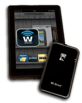 Kingston Digital Announces Wi-Drive App for Kindle Fire