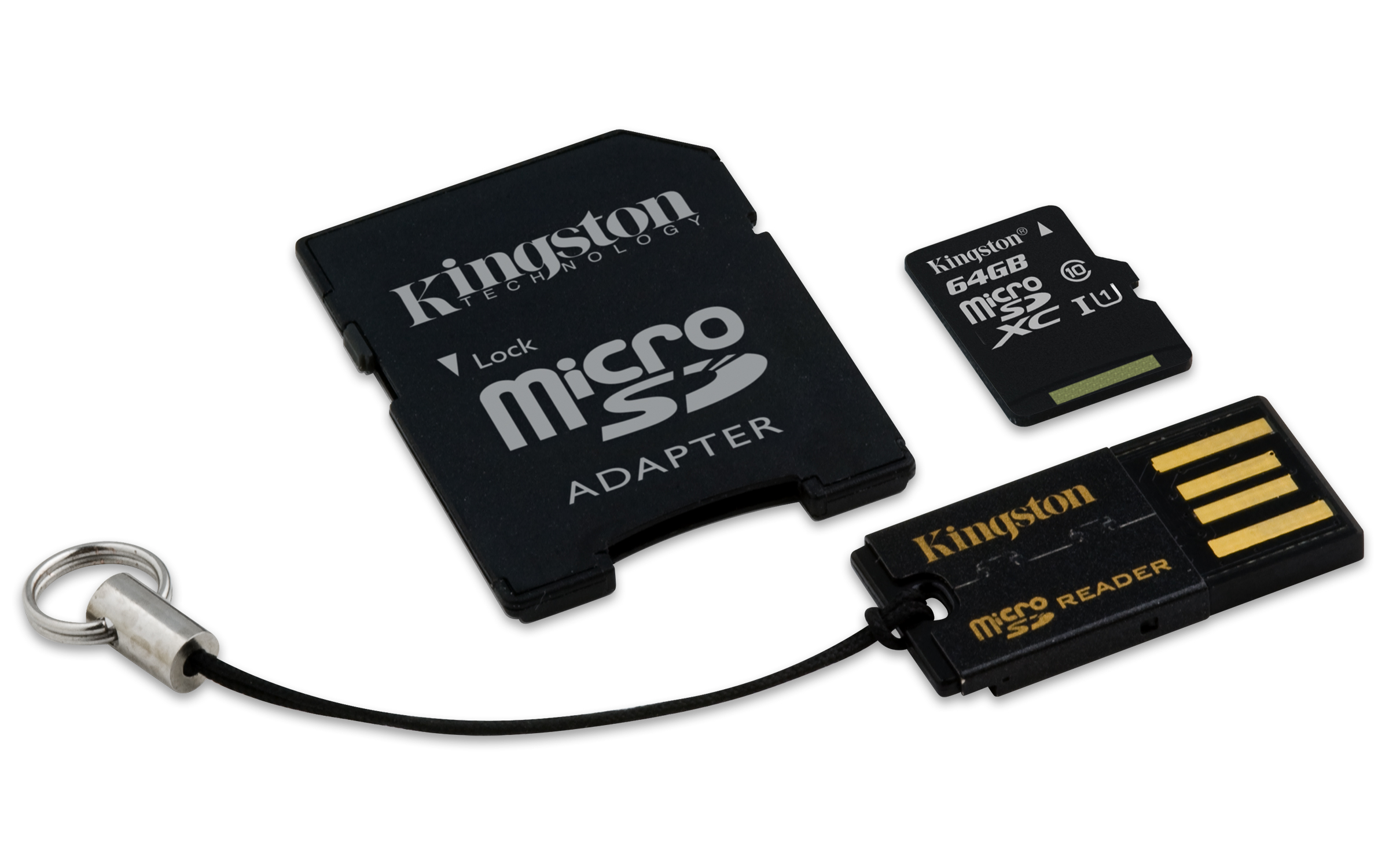 mobility kit micro sd card usb sd adapter kingston. Black Bedroom Furniture Sets. Home Design Ideas
