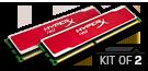 KHX16C9B1RK2/8X