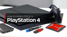 How to upgrade the PS4 with a SSD - HyperX