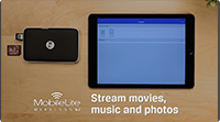 How to Stream Media with the 5-in-1 Mobile Companion | MobileLite Wireless G2