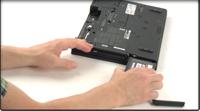 ノートブック専用 SSD ハードウェアのインストール
