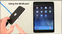 How To Use the WLAN port | MobileLite Wireless G2