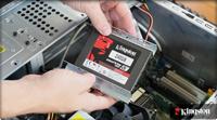 在台式机中安装固态硬盘