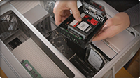 How to Install an SSD in a silver tower Mac Pro